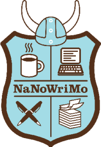 National Novel Writing Month logo.