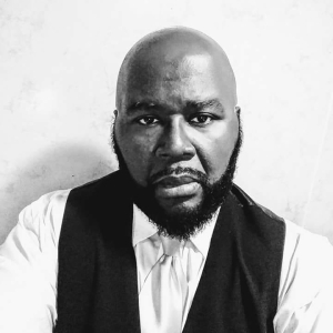 Shawn A. Cosby, author picture.